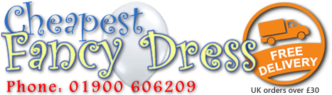 Cheapest Fancy Dress are specialists in mens fancy dress, womens fancy dress, kids fancy dress and fancy dress accessories.